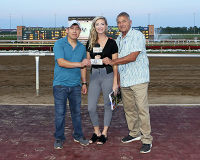 "Jesus Bahena Named ""Groom of the Week"" at Indiana Grand Racing & Casino"